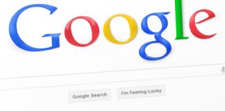 homepage di google