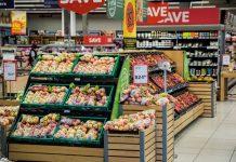foto di un supermercato