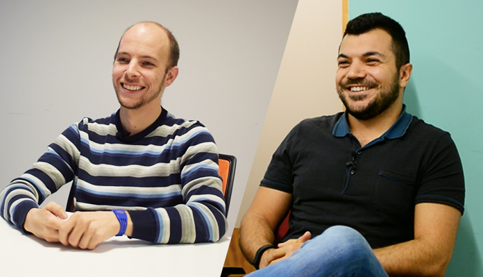 Back-end developer: Marco e Jacopo
